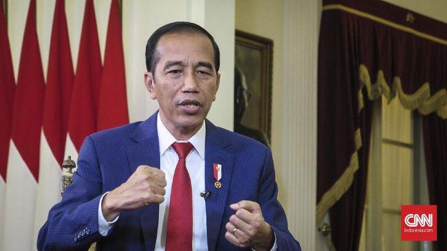 Jokowi Ajak Lembaga Negara Tidak Alergi Kritik