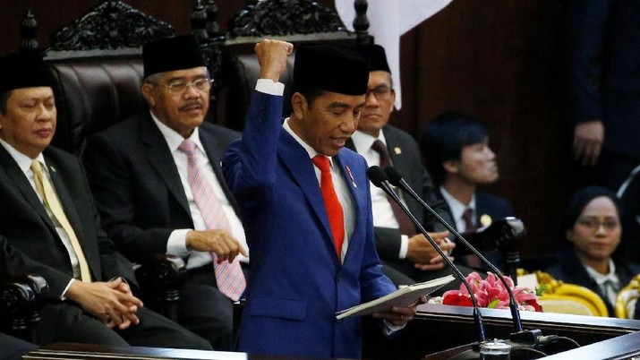 Mengintip Suasana Pidato Kenegaraan Presiden Jokowi