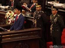 DPD Sampai BPK, Deretan Pujian Jokowi di Pidato Kenegaraan