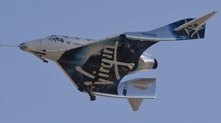 Virgin Galactic Pamer Baju untuk Boyong Turis ke Antariksa