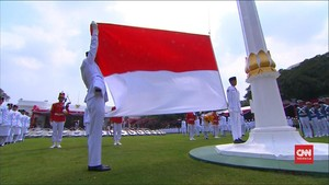VIDEO: Upacara Bendera Istana Merdeka