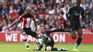 Klasemen Liga Inggris: Liverpool dan Arsenal di Puncak