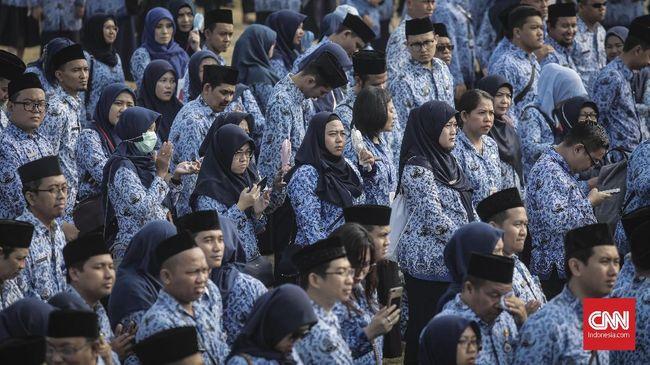 Tugas Eselon III dan IV yang Diganti Jokowi dengan AI