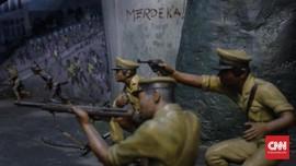 Polemik Monas: Pohon Ditebang, Diorama Butut Dilestarikan