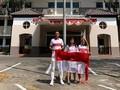 Rayakan HUT ke-74 RI, Dutra Ikut Upacara di Sekolah