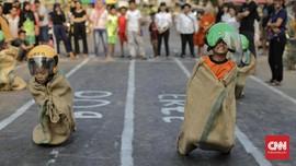 FOTO : Bermacam Lomba Meriahkan HUT RI ke-74