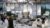 Juru Bicara Kementerian Dalam Negeri Afghanistan, Nasrat Rahimi mengatakan, ledakan terjadi sekitar pukul 22.40 waktu setempat. (REUTERS/Mohammad Ismail)
