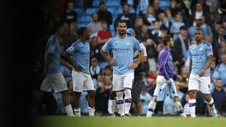 Man City Ditahan Imbang Wolverhampton di Babak Pertama