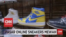 VIDEO: Pasar Online Sneakers Mewah