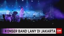 VIDEO: Konser Band Lany di Jakarta