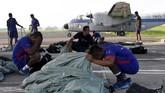 Calon prajurit pasukan khusus terpilih harus mengikuti Pendidikan Intai Amfibi (Diktaifib) di Sekolah Khusus Marinir Pusat Pendidikan Infantri (Sesus Mar Pusdikif) Kodikmar. (ANTARA FOTO/M Risyal Hidayat)