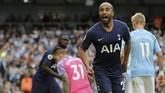 Tottenham mencetak dua gol dalam dua tembakan pertama mereka. (AP Photo/Rui Vieira)