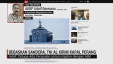 VIDEO: Bebaskan Sandera, TNI AL Kirim Kapal Perang