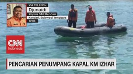 VIDEO: Pencarian Penumpang Kapal KM Izhar Diperluas