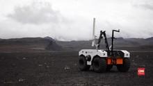 VIDEO: NASA Uji Coba Robot Penjelajah Mars di Islandia