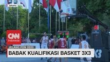 VIDEO: Babak kualifikasi Basket 3X3 Pekan Olahraga Nasional