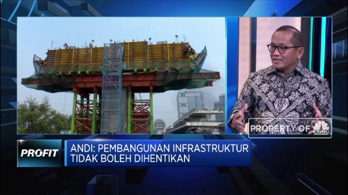 Gapensi Harapkan 30% Proyek Infrastruktur Dikerjakan Swasta (CNBC Indonesia TV)