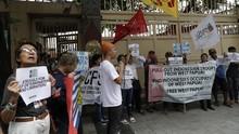 Demo di KBRI, Warga Filipina Desak Pembebasan Papua Barat