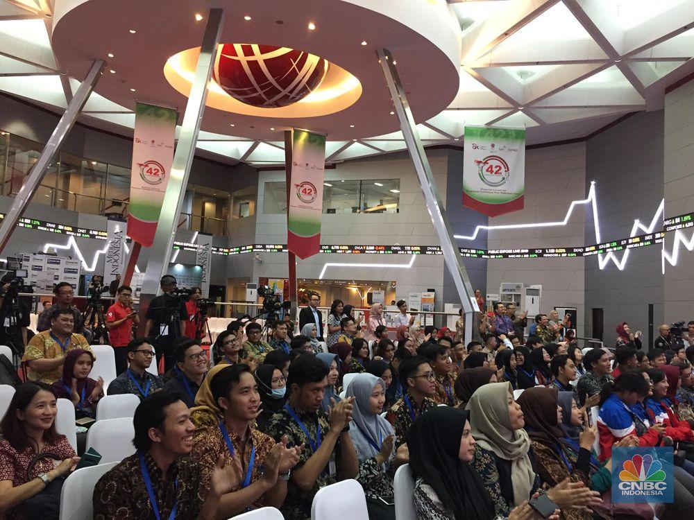 Targetnya akan ada 42 perusahaan tercatat atau emiten yang melakukan paparan publik atau public expose secara langsung. (CNBC Indonesia/Monica Wareza)