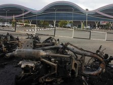 Mengintip Penampakan Bandara Sorong Usai Kerusuhan