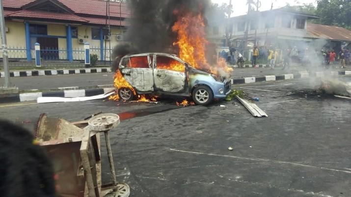 Ini Penampakan Situasi di Manokwari Saat Demonstrasi Terjadi