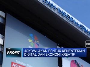 Jokowi akan Bentuk Kementerian Digital dan Ekonomi Kreatif