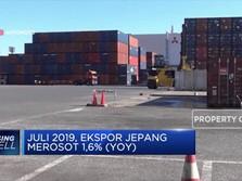 Ekspor Jepang Melorot, Tanda Resesi Makin Nyata?