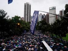 Twitter & Facebook Tangguhkan Akun Terkait Demo Hong Kong