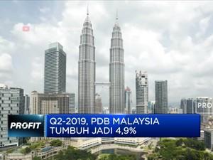 Q2-2019, PDB Malaysia Tumbuh Jadi 4,9%