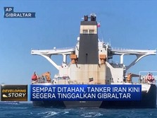 Kapal Tanker Iran Segera Tinggalkan Gibraltar