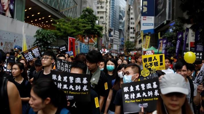 Seorang staff Konsulat Inggris di Hong Kong dikabarkan ditahan Pemerintah China