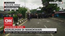 VIDEO: Demo di Manokwari Rusuh, Aktivitas Warga Lumpuh