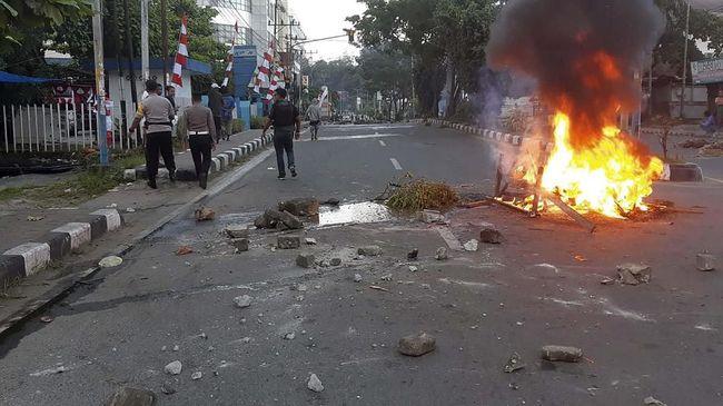 Kantor PLN Wamena Dibakar Saat Aksi Massa di Papua