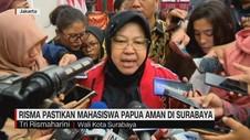 VIDEO: Risma Pastikan Mahasiswa Papua Aman di Surabaya