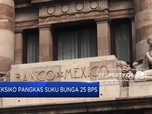 Meksiko Pangkas Suku Bunga 25 Bps