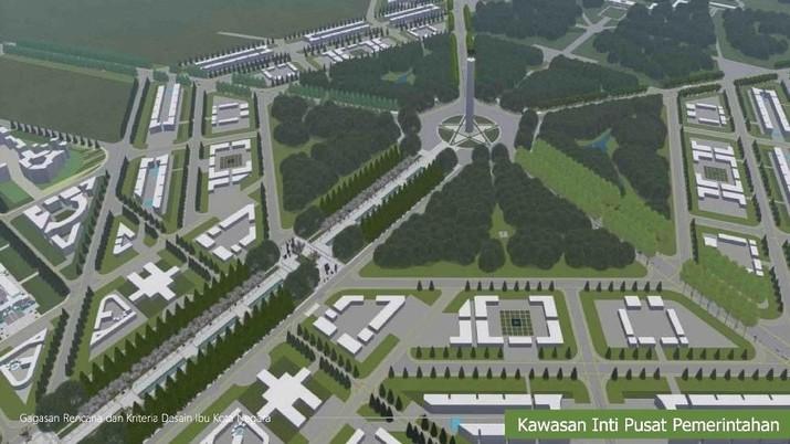 foto : Gagasan Rencana dan Kriteria Desain Ibu kota Negara 3 (Dok: PUPR)