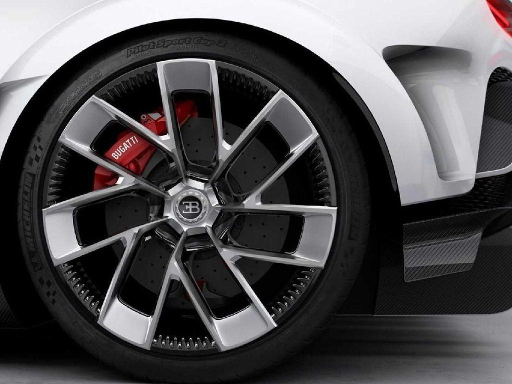 Peleknya terlihat mewah. Bugatti Centodieci ditawarkan dalam warna putih. Tapi menurut CEO Bugatti Stephan Winkelmann, pelanggan Centodieci bisa memilih warna sesuai selera mereka. Foto: Dok. Bugatti
