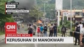 VIDEO: Detik-Detik Kerusuhan Meledak di Manokwari Papua Barat