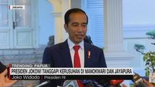 VIDEO: Jokowi Tanggapi Kerusuhan di Manokwari & Jayapura