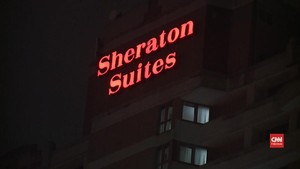 VIDEO: Penembakan di Hotel Sheraton The Plaza Lukai 4 Orang