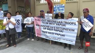 VIDEO: Warga Filipina Unjuk Rasa Desak Pembebasan Papua Barat