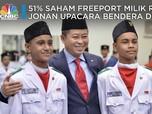 51% Saham Freeport Milik RI, Jonan Upacara Bendera di Papua