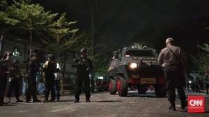 Ratusan Polisi Amankan Asrama Mahasiswa Papua Makassar