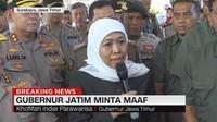 VIDEO: Gubernur Jatim Minta Maaf Atas Ucapan Rasis