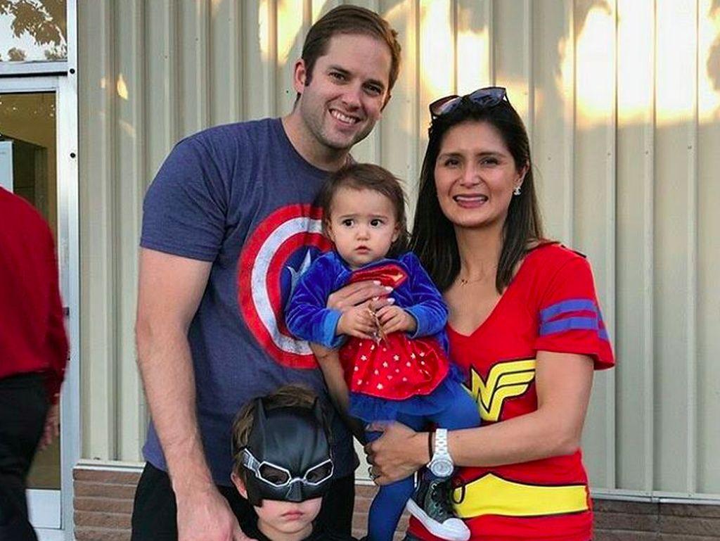 Lilian tinggal di San Carlos, California, bersama keluarga kecilnya ini. Foto: Instagram