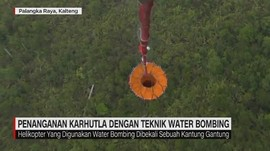 VIDEO: Penanganan Karhutla dengan Teknik Water Bombing