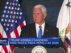 Trump Kembali Gandeng Mike Pence Di Pemilu 2020