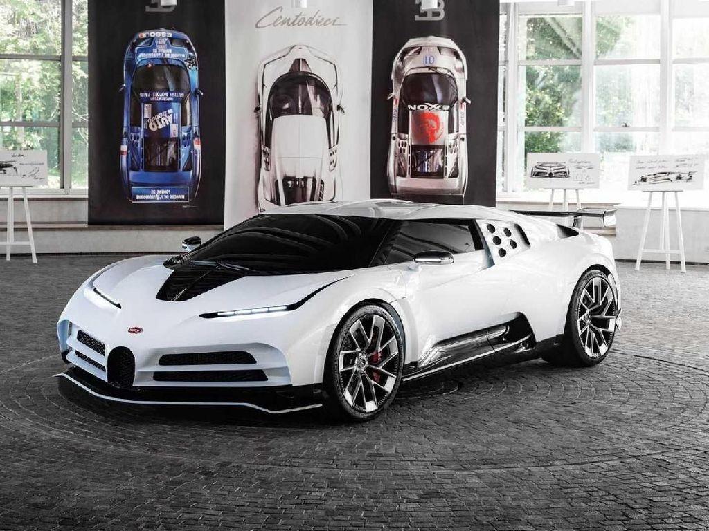 Harganya pun fantastis, dimulai dari 8 juta euro atau setara Rp 126,2 miliar, belum termasuk pajak. Foto: Dok. Bugatti
