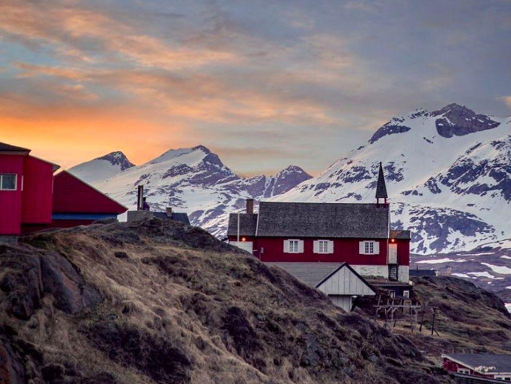 Kegelapan musim dingin, di mana cahaya Matahari per hari hanya berlangsung tiga sampai empat jam, terjadi antara pertengahan November sampai akhir Januari. Foto: Instagram