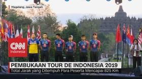 VIDEO: Pembukaan Tour De Indonesia 2019